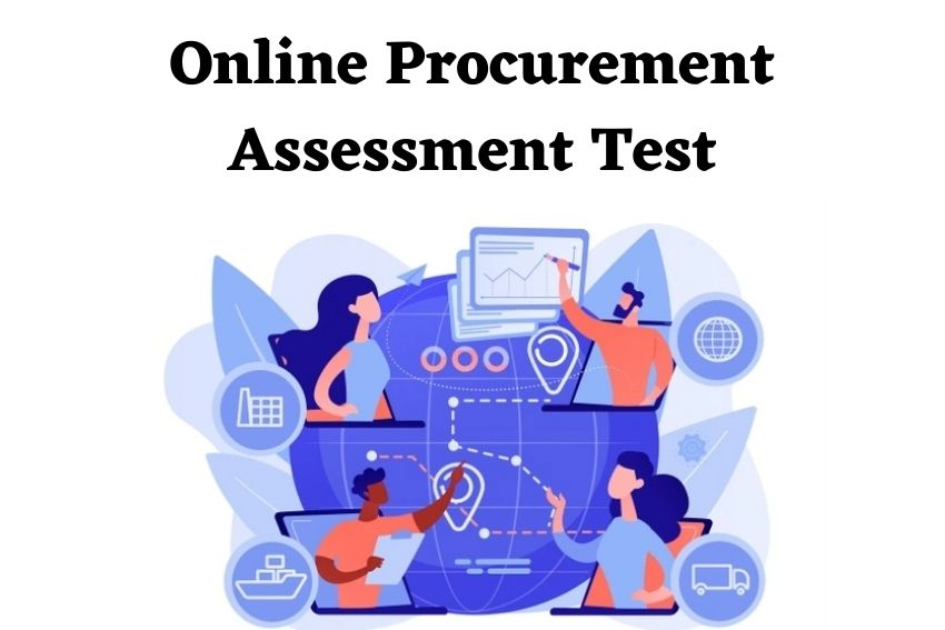 Online Procurement Assessment Test